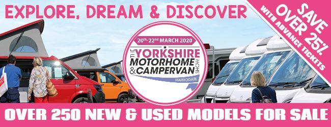The Yorkshire Motorhome & Campervan Show 2020