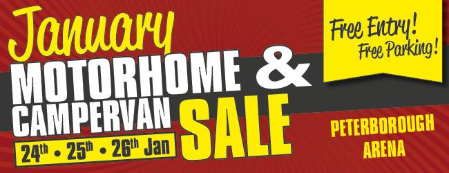 January Motorhome and Campervan Sale