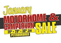 The January Motorhome & Campervan Sale