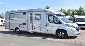 This Hymer T SL 708 is June's Motorhome of the Month - picture courtesy of Erwin Hymer Travelworld