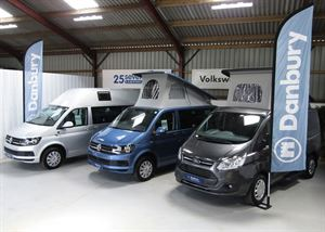 25seven Campers are now authorised retailers of Danbury Campervans