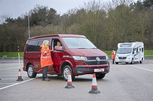 Caravan and Motorhome Club Manoeuvring Course