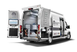 Mobile service stations will soon be available to Fiat-based motorhome owners here