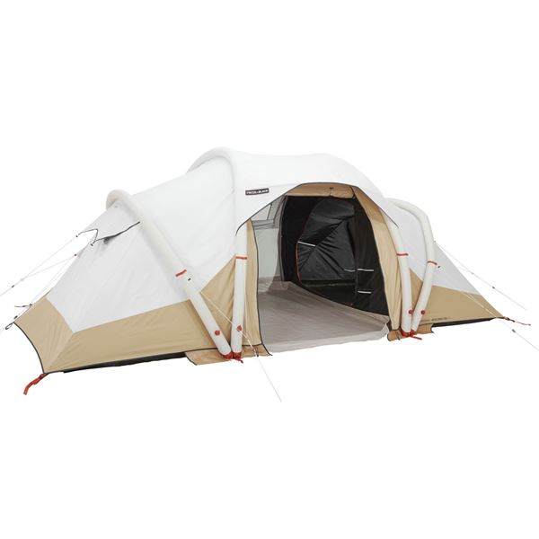 The Quechua Air Seconds 4.2XL Fresh & Black family camping tent