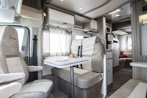 From front to rear in the Benimar Tessoro 482 motorhome