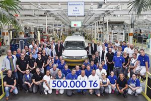 The 500,000th VW T6