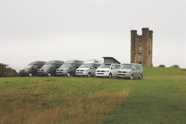 60 years of Auto-Sleepers motorhomes and campervans line-up