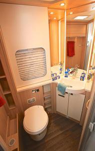 Spacious, practical washroom