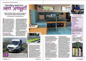 CAMPERVAN JANUARY 2020 ISSUE
