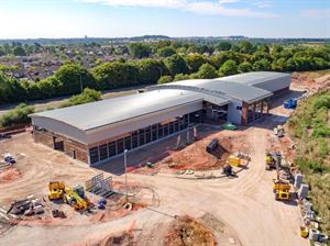 Erwin Hymer Centre Travelworld's new motorhome dealership well underway