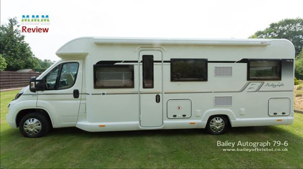 Bailey Autograph 79 6 Video Review Motorhome News