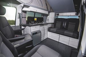 Inside the 8 Ball Camper Conversions 8 Ball2 campervan