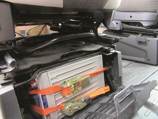 Motorhome advice: How to fit twin high-capacity batteries