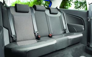 Three rear seats