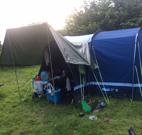 Kampa Tent Frinton 3