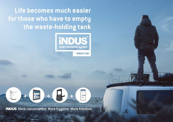 Thetford iNDUS wins Red Dot Product Design award