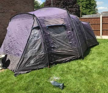 Outdoor Revolution Tent VRX Scenic 4.2