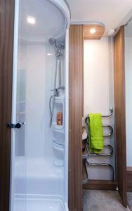 What's your caravan's shower like?