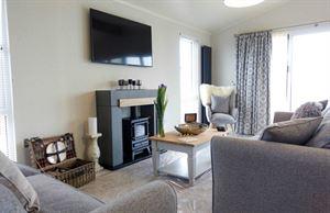 Aspire Glaslyn luxury lodge sitting room