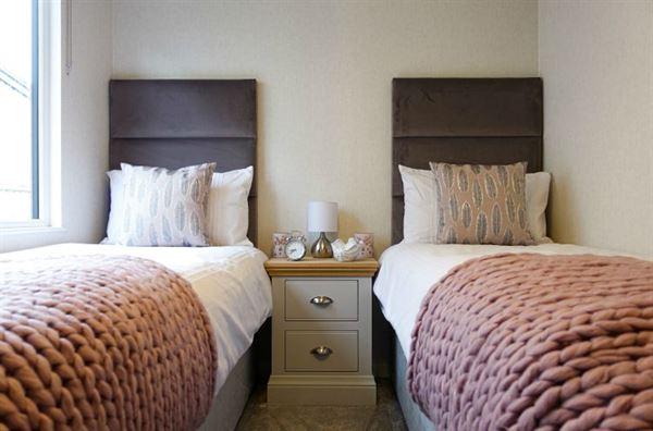 Aspire Glaslyn luxury lodge spare bedroom