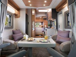 Adamo 75-4DL through shot, featuring double lounge