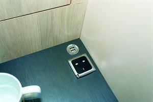 A double USB socket