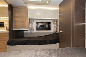 Beds in the Adria Alpina Colorado caravan