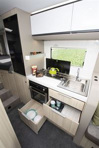 Adria Compact kitchen