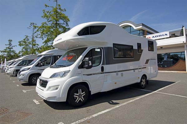 The Adria Coral XL Plus 600 DP motorhome