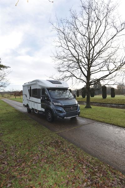The Adria Matrix Plus 600 DT motorhome