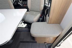 The cab in the Adria Matrix Axess 600 SC motorhome