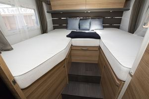 Beds in the Adria Sonic Axess 600 SL motorhome