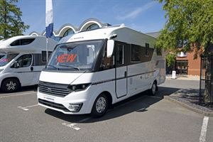 The new Adria Sonic Axess 600 SL motorhome