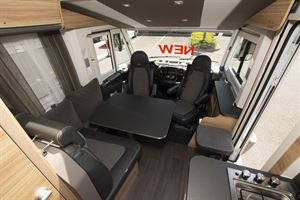 The lounge in the Adria Sonic Axess 600 SL motorhome