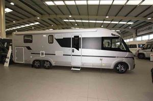This is a large and long motorhome  © Warners Group Publications
