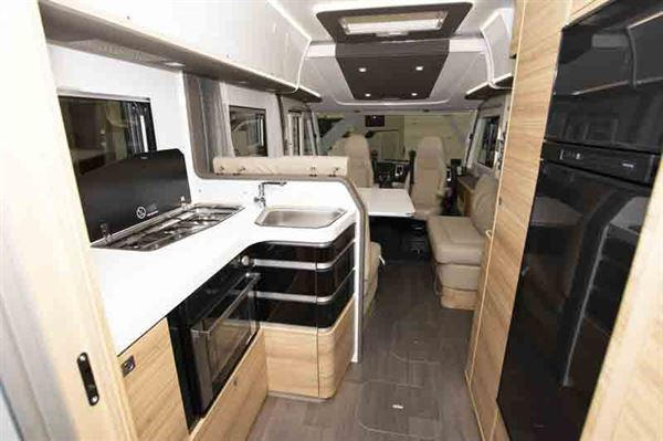 The Adria Sonic Supreme has a large galley area - © Warners Group Publications