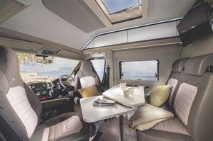 Inside the Adria Twin Plus 600 SPB