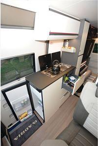 Adria Twin Sports 640 SG campervan kitchen