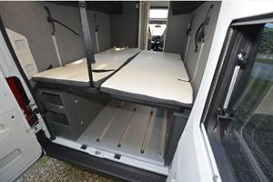 Adria Twin Sports 640 SG campervan rear view
