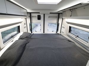 Beds in the Adria Twin Supreme 640 SGX campervan