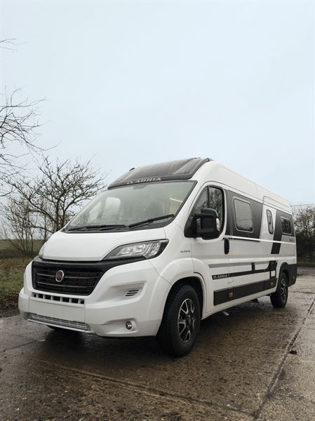 The Adria Twin Supreme 640 SGX campervan