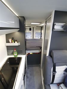 The interior of the Adria Twin Supreme 640 SGX campervan