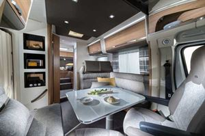 Interior of the Adria Matrix 670 SL