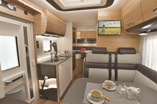 Layout is one of the most important factors when choosing a motorhome