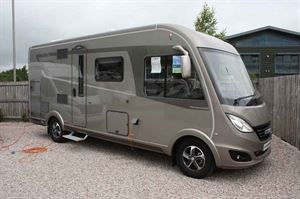 Adventure Leisure's discounted Hymer BD-L 584 motorhome
