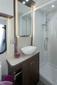 The washroom in the Affinity 462