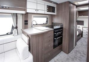 Elddis Affinity 574 kitchen