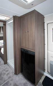 Elddis Affinity 574 fridge