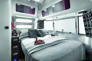 Airstream Colorado bedroom