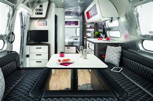 Airstream Colorado living space
